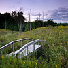 ML 001<br /> <br /> Sunset over a restored prairie.  Mayslake Forest Preserve, DuPage County, Illinois.