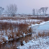 SBP 097<br /> <br /> A winter day ends in a peaceful twilight at Springbrook Prairie Nature Preserve, DuPage County, Illinois.
