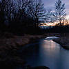 SBP 092<br /> <br /> Spring Brook Creek at twilight.  Springbrook Prairie Nature Preserve, DuPage County, Illinois.