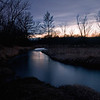 SBP 093<br /> <br /> Spring Brook Creek at twilight.  Springbrook Prairie Nature Preserve, DuPage County, Illinois.