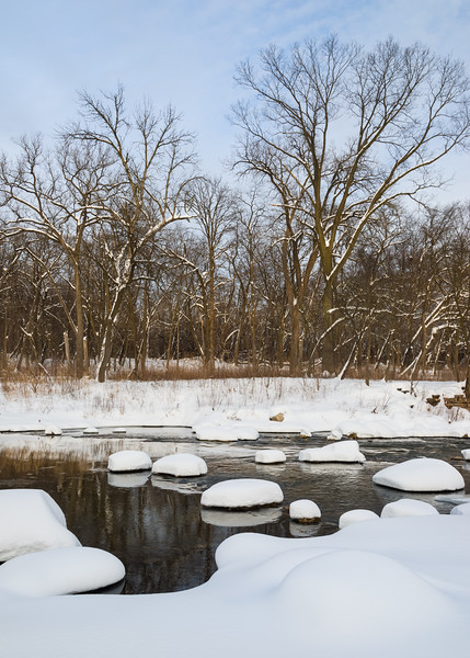 WrvGrv 012<br /> <br /> Winter at Warrenville Grove Forest Preserve, DuPage County, Illinois.