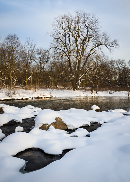 WrvGrv 015<br /> <br /> Winter at Warrenville Grove Forest Preserve, DuPage County, Illinois.