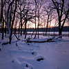 WFG 035<br /> <br /> Dawn at 91st Street Marsh.  Waterfall Glen Forest Preserve, DuPage County, Illinois.