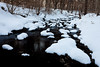 Snow covers the rocks on the creek at Black Partridge. Lemon, IL<br /> <br /> IL-110203-0047