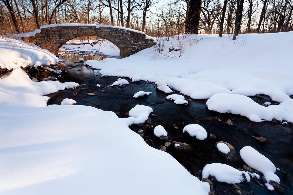 Black Partridge Creek in Winter