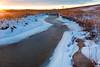 Springbrook Creek winter scene. Naperville, IL<br /> <br /> IL-100109-0132