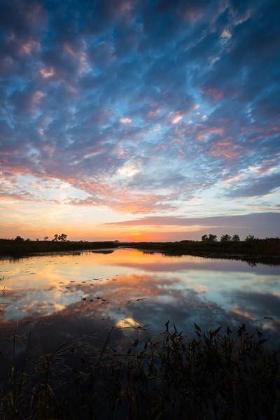 Prairie Autumn Sky