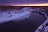Springbrook Creek winter scene. Naperville, IL<br /> <br /> IL-100109-0177