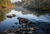 River Morning Light
