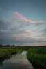 Summer sunset at Springbrook Prairie. Naperville, IL<br /> <br /> IL-120729-0055
