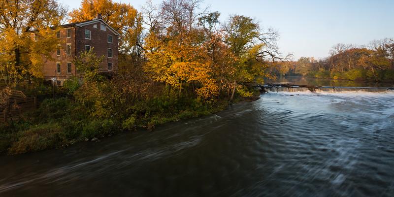 Graue Mill Autumn's First Light