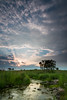 Summer sunset at Springbrook Prairie. Naperville, IL<br /> <br /> IL-120729-0008