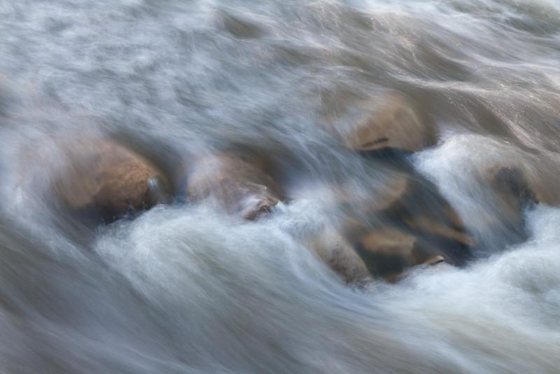 Water rushes over the rocks in Sawmill Creek. Darien, IL<br /> <br /> IL-090514-0004