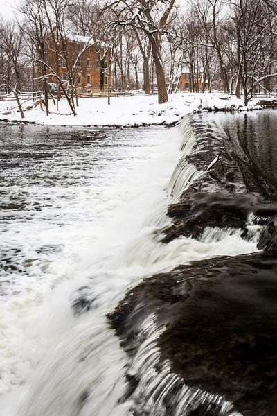 Salt Creek Falls and Snow