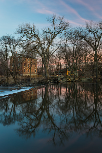 Graue Mill Reflections