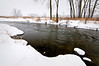 GP 003                  Winter on Nippersink Creek in Glacial Park Conservation Area, McHenry County, Illinois,