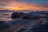 Blue Ice at Dawn II