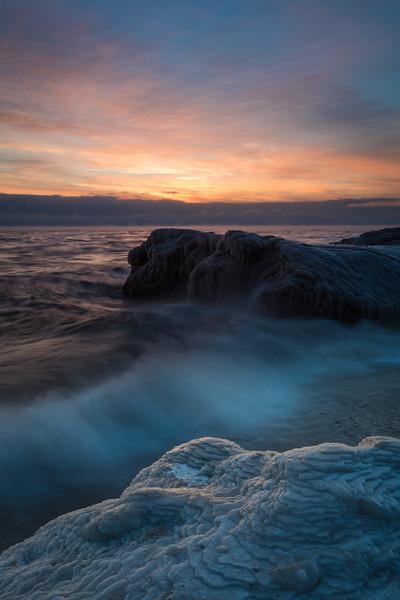 Blue Ice at Dawn III