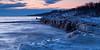 Openlands Lakeshore Preserve winter shoreline. Highland Park, IL<br /> <br /> IL-100109-0011