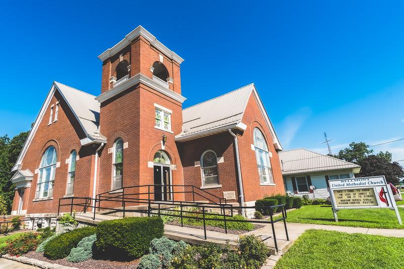 United Methodist Church in Bellmont Illinois