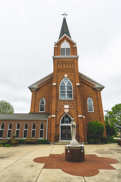 Saint Mary's Catholic Church in Marshall Illinois