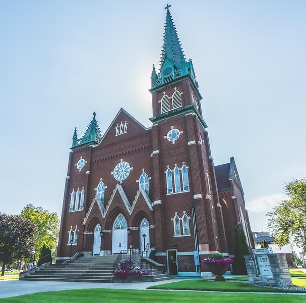 Saint John's Lutheran Church in  Buckley Illinois