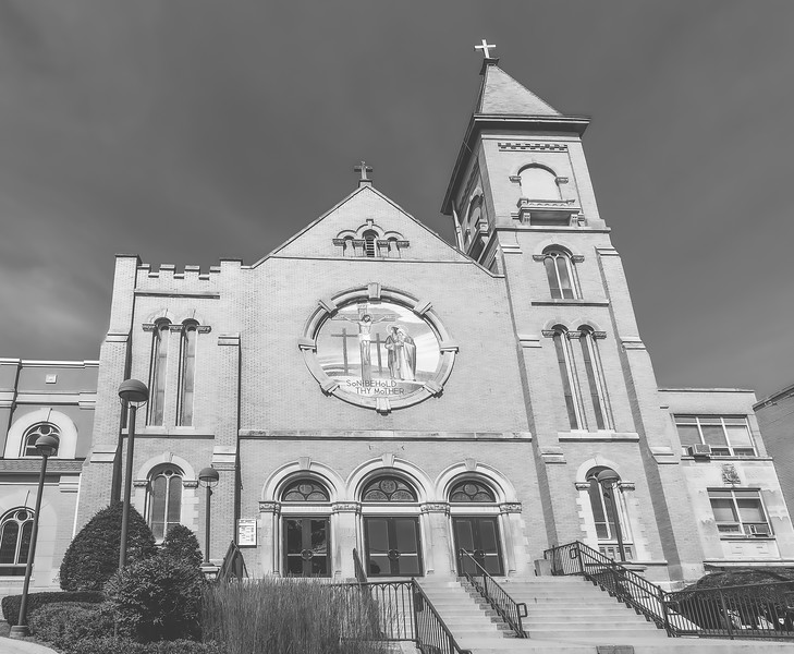Saint Mary's Catholic Church in Woodstock Illinois