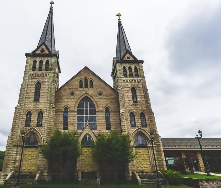 Saint Mary's Catholic Church in Paris Illinois