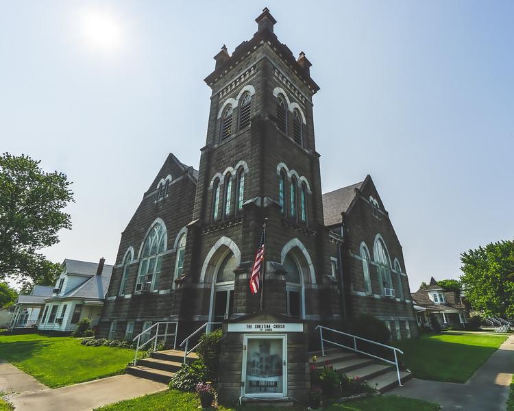 Congregational Christian Church in Sumner Illinois