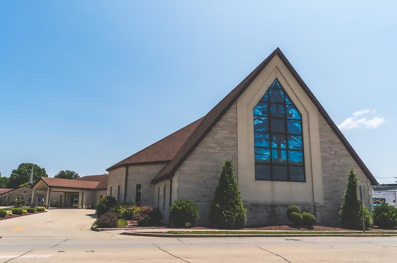 First Baptist Church in Casey Illinois
