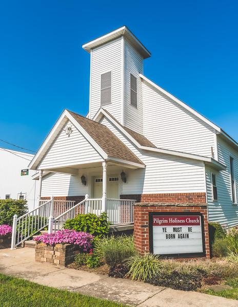 Pilgrim Holiness Church in Sainte Marie Illinois
