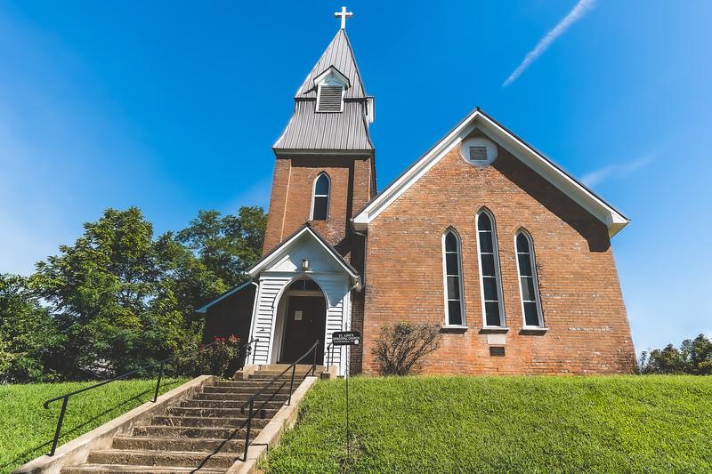St. John's Episcopal Church in Albion Illinois