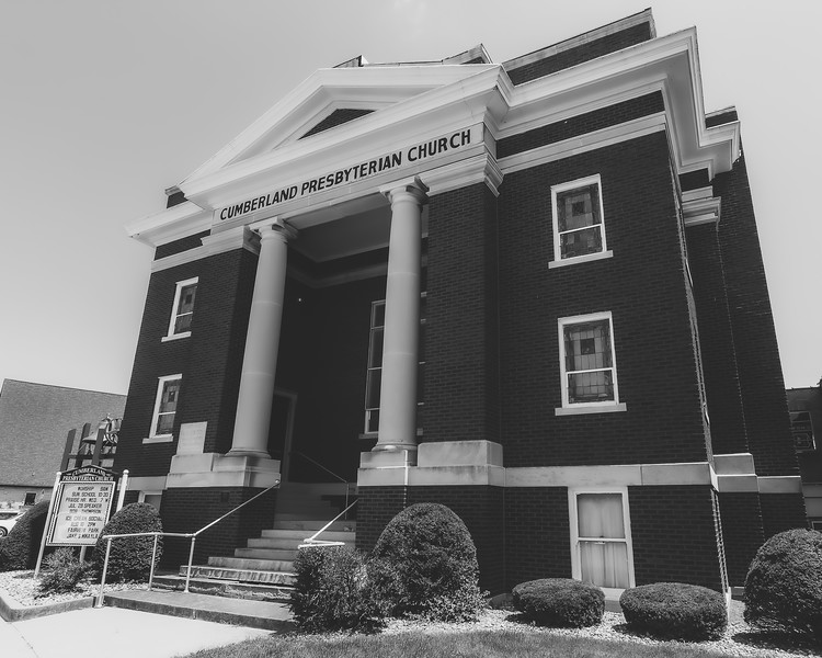 Cumberland Presbyterian Church in Casey Illinois