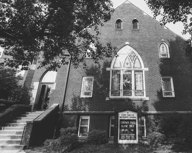 First United Methodist Church in Bridgeport Illinois