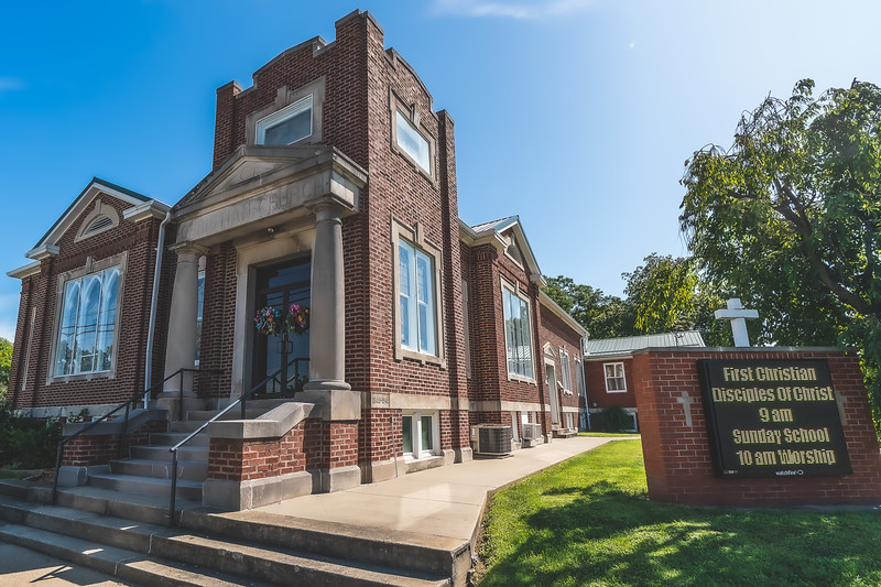 First Christian Church  in Albion Illinois