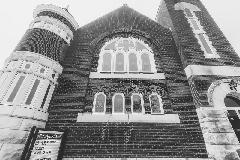 First Baptist Church in Paris Illinois