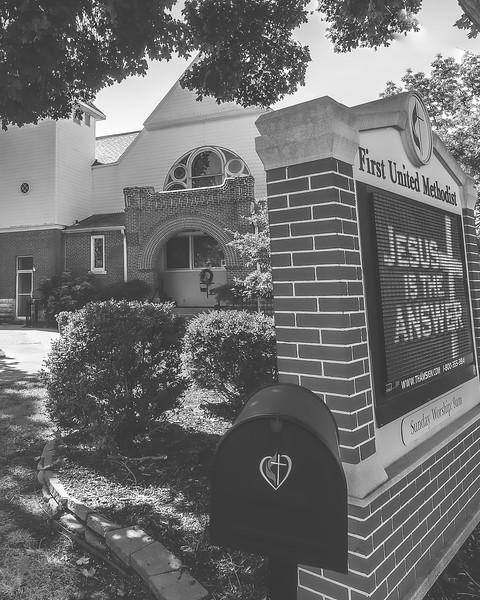 First United Methodist Church in Albion Illinois