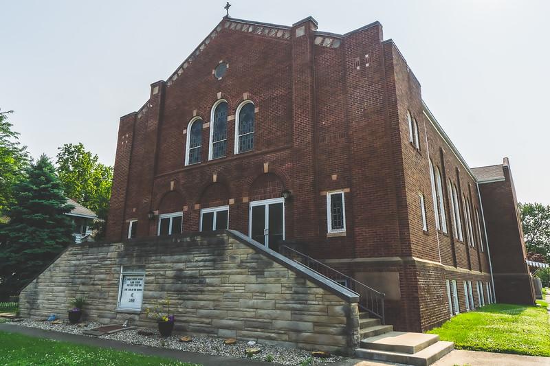Otterbein United Methodist Church in Lawrenceville Illinois