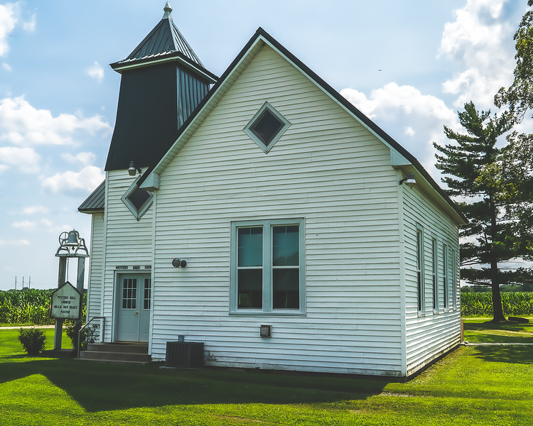 Potter's Hall Church in Clark County Illinois