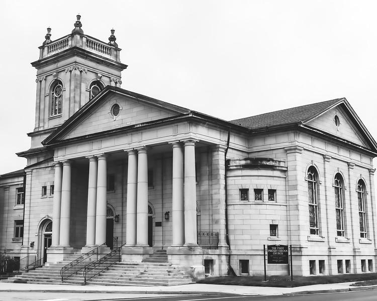 First Presbyterian Church in Charleston Illinois
