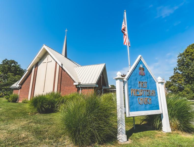 First Presbyterian Church in Olney Illinois