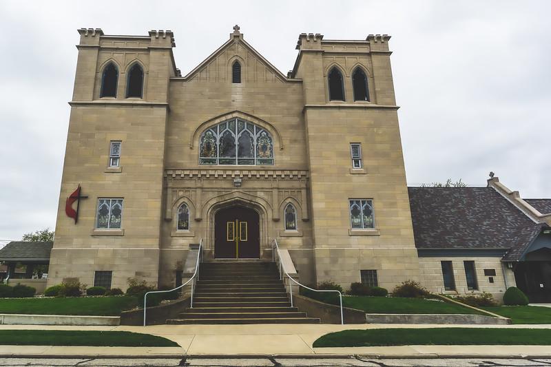 First United Methodist Church in Marshall Illinois