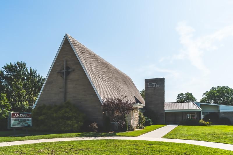 Saint Paul United Methodist Church in Olney Illinois
