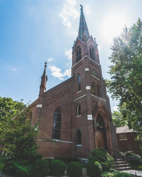 Saint Joseph's Catholic Church in Chenoa Illinois