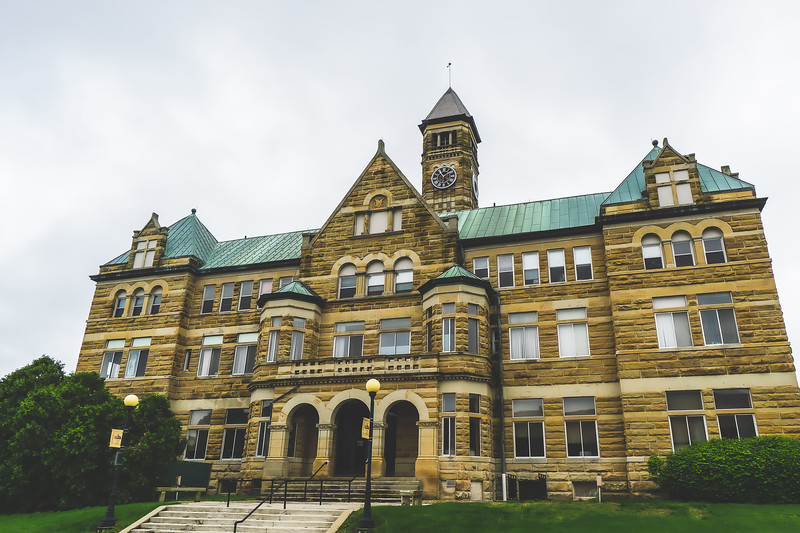 Coles County Illinois Courthouse in Charleston