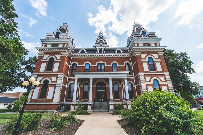 Livingston County Illinois Courthouse