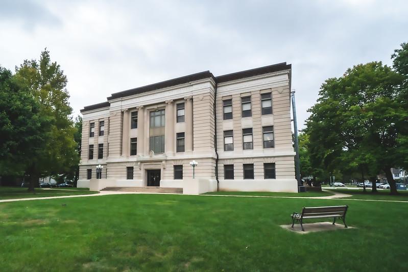 Douglas County Illinois Courthouse in Tuscola