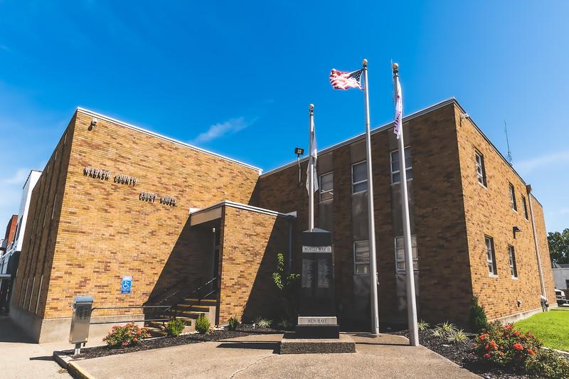 Wabash County Illinois Courthouse