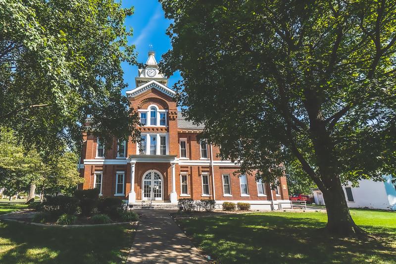 Edwards County Illinois Courthouse