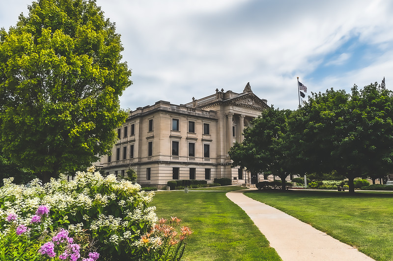 DeKalb County Illinois Courthouse in Sycamore